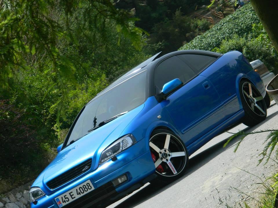 Opel Astra Bertone / Blue Monster